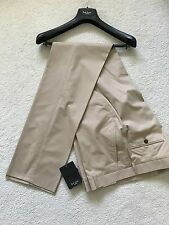 "Paul Smith ""London"" De Lujo Beige Pantalones 34 Waist"