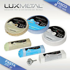 Kit per lucidare pulire argento oro graffiato ossidato pulitore pulizia pulisci