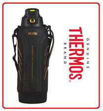 ❤ THERMOS 1.5L SPORT Insulated Stainless Steel Vacuum BOTTLE Carry Strap + POUCH