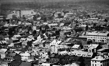 """Photo 1860s Montreal, Canada """"Sky View From Notre-Dame"""""""