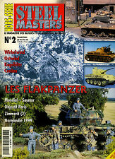 Stahl Masters Nr ° 2, außer Serie, die Flakpanzer Perfekt