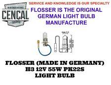 FLOSSER (MADE IN GERMANY) H3 12V 55W PK22S LIGHT BULB 64151 88206014 3320
