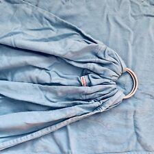Kokadi Gathered Ring Sling Noah Im Wunderland Baby Carrier Brushed Silver Rings
