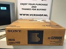 Sony EV-C2000e Hi8 Video8 Recorder (BOXED)