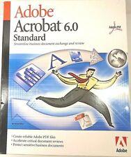 Adobe Acrobat 6.0 Standard for Windows PN: 22001617 Open Box - Mint