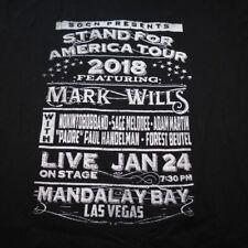 Grunt Style Mark Wills Las Vegas Concert Tour Tee T Shirt Sz Mens Xxl Country