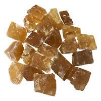 Genuine Natural Rough Honey Calcite Crystal Gemstones