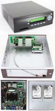 M400-LCD Mini-ITX Appliance Gehäuse (picoLCD 20x2, CF USB Slot, 2x HDD/SSD)