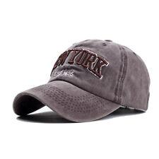 243d7b492be Unisex Vintage Baseball Cap Men Adjustable Denim Distressed Trucker Snapback  Hat