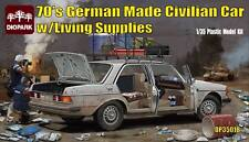 Diopark ® DP35018 German Made Civilian Car w/Living Supplies 1:35