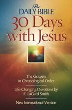 Daily Bible 30 Days with Jesus-NIV: The Gospels in Chronological Order (Paperbac