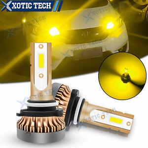 For Honda Accord Civic Golden Yellow 9005 9011 LED Daytime Running Light DRL 2pc