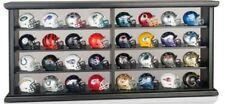 NFL American Football 32 Riddell Pocket Revolution Helmet Set in Display Case