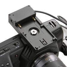 Power Supply Adapter Plate for BPU30 U60 U90 Battery to Blackmagic  BMCC 4K/6K