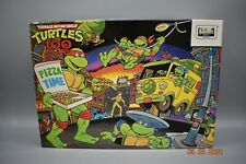 Vtg Teenage Mutant Ninja Turtle TMNT Pizza Time Puzzle 100 Pc Kowabunga