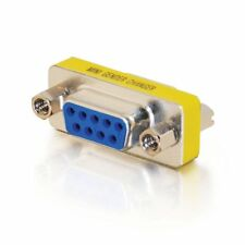 Brand New Gender Changer 9 Pin Female to Female F/F Serial RS232 Adapter PC DB9