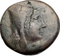 AMISOS in PONTUS 120BC Mithradates VI Quiver Authentic Ancient Greek Coin i64521