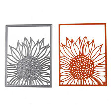 Scrapbooking Card Craft DIY Sunflower Cutting Dies Metal Stencils Embossing Cute