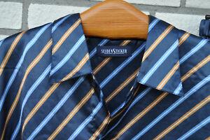 Seidensticker Schlafanzug Classic Gr. 52  Pyjama geknöpft Herren vintage😎😍 neu