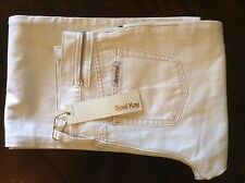 Seal Kay white womens boot cut jeans 28' 34L
