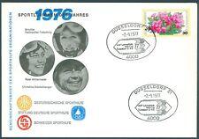 Bund Schmuckbrief mit Sportlerinnen von 1976 mit Nr. 904