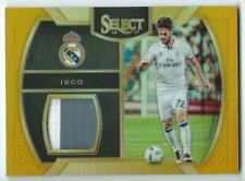 2016-17 Panini Select GOLD Prizm Isco PATCH #8/10 Real Madrid