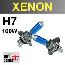 H7 100W BULBS XENON SUPER WHITE HEADLIGHT DIPPED 472 BEAM VW SCIROCCO