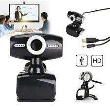 HD Webcam Laptop Kamera USB 2.0 3.0 Mit Mikrofon für PC Computer Windows 10 Mac