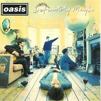 OASIS definitely maybe (CD, album) alternative rock, brit pop, indie rock, 1994