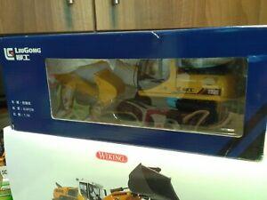 Rare Liugong 922D Excavator Telehandler loader conrad nzg Siku Tractor Britains
