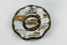 Mackinac Island Decorated Dish