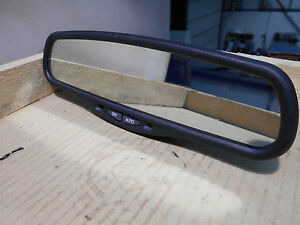 Jaguar XJ X350 S-Type Interior Rear View Mirror. With Covers. Genuine.
