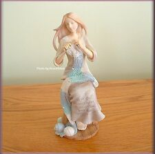 CRAFTING FRIENDSHIP FIGURINE BY ENESCO FOUNDATIONS FREE U. S. SHIPPING