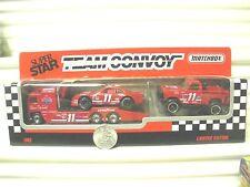 Matchbox 1992 #11 Bill Elliott AMOCO 3 Model Team Convoy New Mint in C9 Box*
