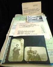 Taylor Fitzgerald Mantle  Family Reunions 1928 - 1957 Record Book Papers Ohio