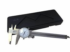 NEW 0-6'' STAINLESS 4 WAY DIAL CALIPER .001'' SHOCK PROOF NEW