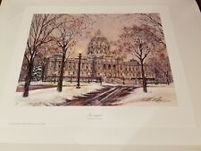 The Capital ~ Susan Amidon ~ Limited Edition Art Print