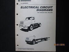 International Navistar Truck 1000-8000 Electrical Circuit Diagrams  Manual 1989