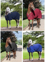 LeMieux THERMO-COOL Carbon Thermatex Cooler Rug Blue/Black/Navy/Burgundy 5'0-7'0