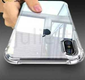 New iPhone 13 12 11 MAX XS Luxury Transparent Shockproof Slim Clear Case Cover