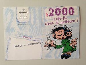 MINI CALENDRIER 2000 - GASTON LAGAFFE