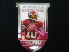 ROBERT GRIFFIN III ROOKIE OF THE YEAR CONTENDERS  CARD#7--2012 CONTENDERS