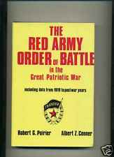 WWII Book Red Army Order of Battle Soviet Russia