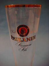BEER Glass ^*^ Paulaner Munchen Brauerei Premium Pils ~ Munich, Germany Pilsener