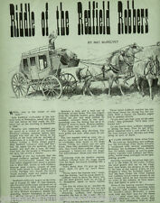 Riddle of the Redfield Robbers - Redington, AZ