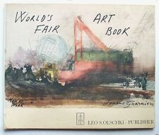 World's Fair Art Book: Men At Work, A Sketchbook by Luciano Guarnier, 1964