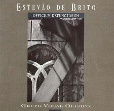 ESTEVAO DE BRITO: OFFICIUM DEFUNCTORUM NEW CD