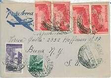 ITALIA REPUBBLICA: 1 Lira DEMOCRATICA su BUSTA 1946