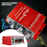 HY-2001 12V Mini Power Amplifier Treble Bass Volume Control Stereo Music Player