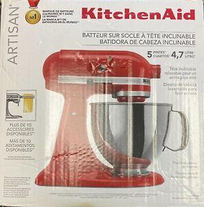 KitchenAid KSM150PS Artisan 5 Quart Stand Mixer-Red